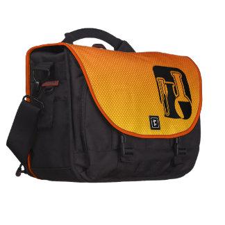 Química amarillo-naranja bolsas para ordenador