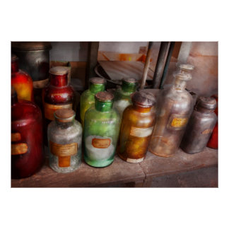 Química - arco iris de los químicos impresiones