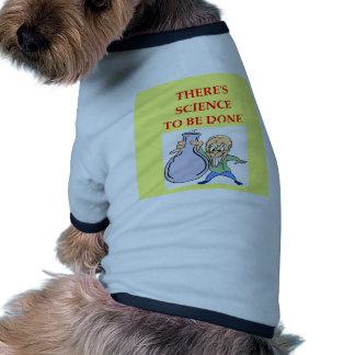 química camisetas de perro