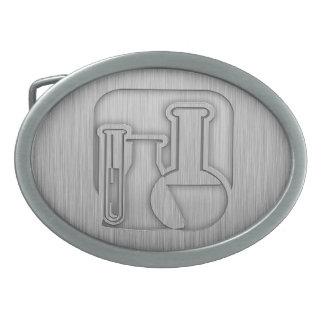 Química cepillada de la Metal-mirada Hebilla De Cinturón
