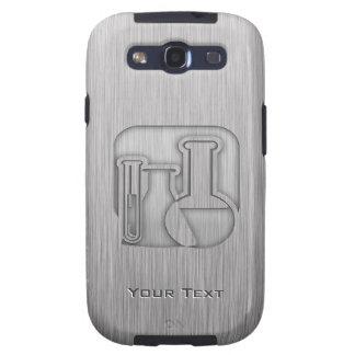 Química cepillada de la Metal-mirada Galaxy S3 Carcasas