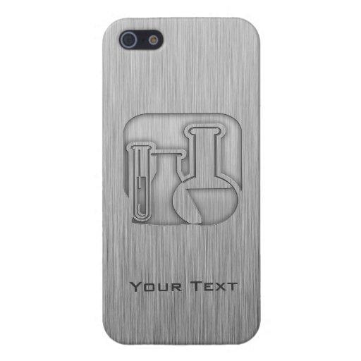 Química cepillada de la Metal-mirada iPhone 5 Cobertura