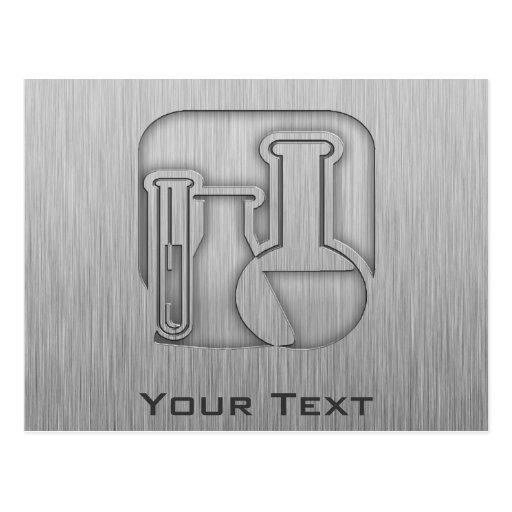 Química cepillada de la Metal-mirada Tarjetas Postales
