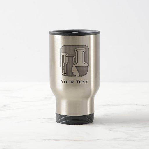 Química cepillada de la Metal-mirada Taza De Café