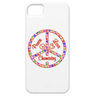 Química del amor de la paz iPhone 5 fundas