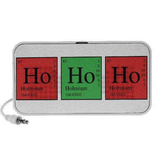 Química del navidad laptop altavoces
