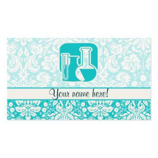 Química del trullo tarjetas de visita
