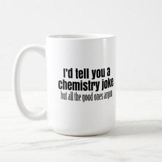 Química divertida Meme para los estudiantes de los Taza Clásica