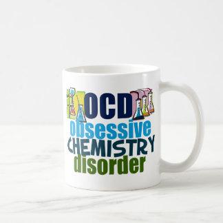 Química divertida taza básica blanca