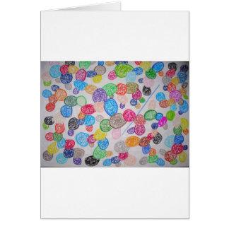 Química en arte tarjetas
