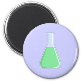 Química Erlenmeyer pistón chemistry flask Imán Redondo 5 Cm