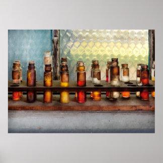 Química - las muestras poster