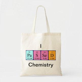 Química pasajera la bolsa de asas del nombre de la