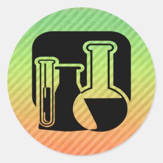 Química Etiquetas Redondas
