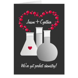 Química perfecta felicitacion