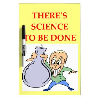 química tableros blancos