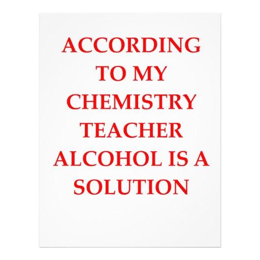 química plantilla de membrete
