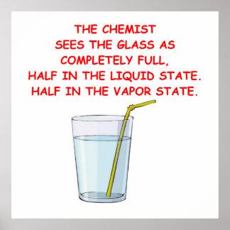 química póster