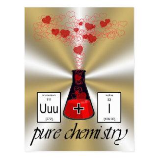 Química pura postales