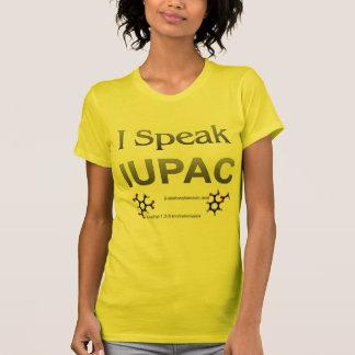 Química pura y aplicada de la unión internacional tee shirt