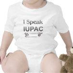 Química pura y aplicada de la unión internacional traje de bebé