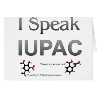 Química pura y aplicada de la unión internacional  felicitación