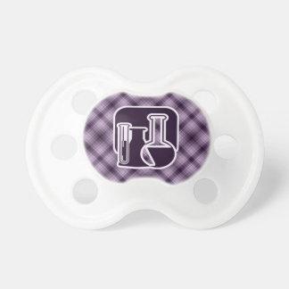 Química púrpura chupetes de bebe