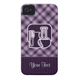Química púrpura iPhone 4 Case-Mate cárcasa