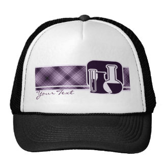 Química púrpura gorros