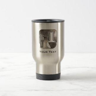 Química rugosa tazas de café