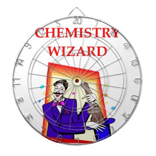 química tablero de dardos