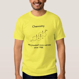 Química y béisbol poleras