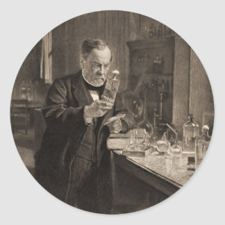 Químico 1892 pegatina redonda