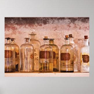 Químico - ácido mortal impresiones
