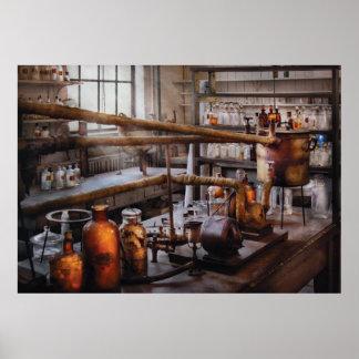 Químico - aún posters