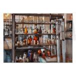 Químico - de donde la ciencia viene felicitación