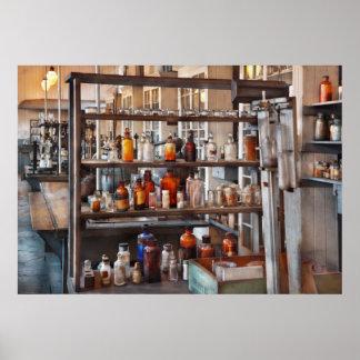 Químico - de donde la ciencia viene poster