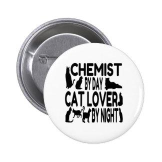 Químico del amante del gato pins