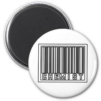 Químico del código de barras imán de frigorífico