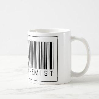 Químico del polímero del código de barras taza de café