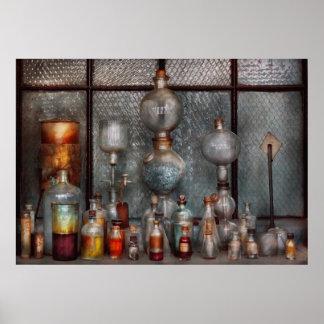 Químico - el aparato impresiones