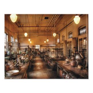 """Químico - el laboratorio de Chem Invitación 4.25"""" X 5.5"""""""