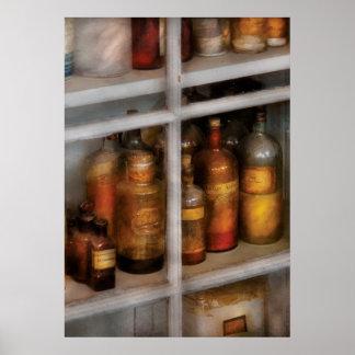 Químico - laboratorio del sabor poster