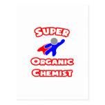 Químico orgánico estupendo tarjetas postales