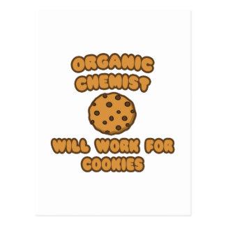 Químico orgánico. Trabajará para las galletas Postal