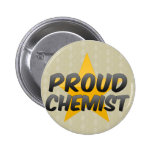 Químico orgulloso pins