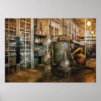 Químico - química 101 poster