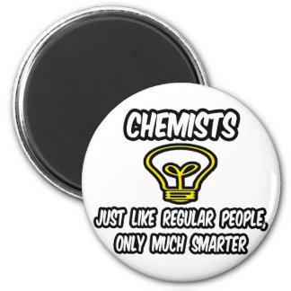 Químicos… como la gente regular, solamente más ele imán redondo 5 cm