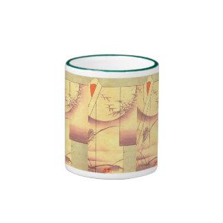 Quimono diseño 3 taza de dos colores