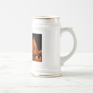 Quin Abbey at night Beer Stein